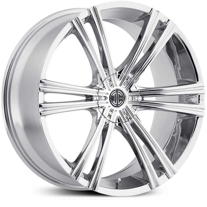 20x10.0 2Crave N28 Chrome HPO