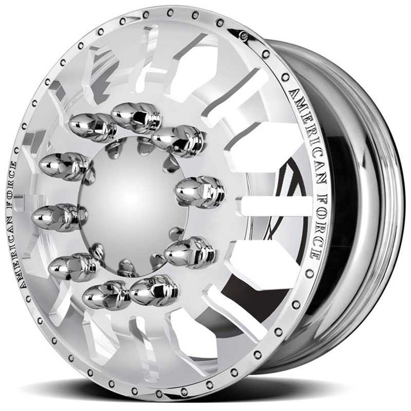 American Force Dually DIAMOND  Wheels Mirror Finish Polish