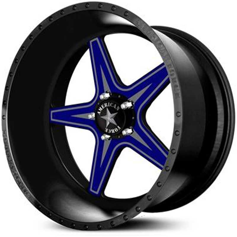 American Force EVADE FP5  Wheels Black Flat-Solid