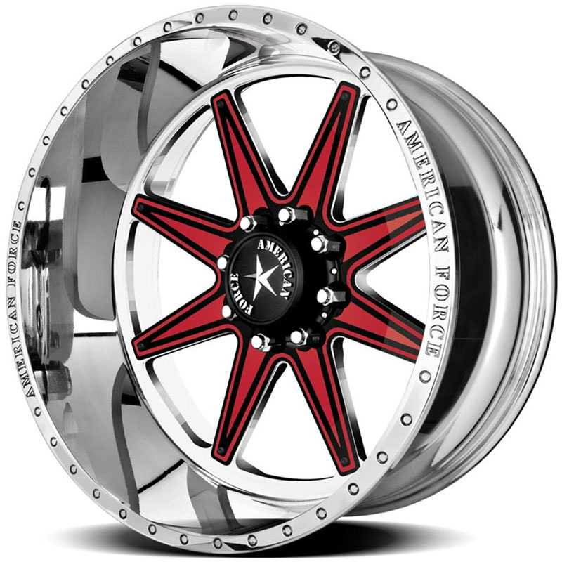 American Force EVADE FP8  Wheels Mirror Finish Polish