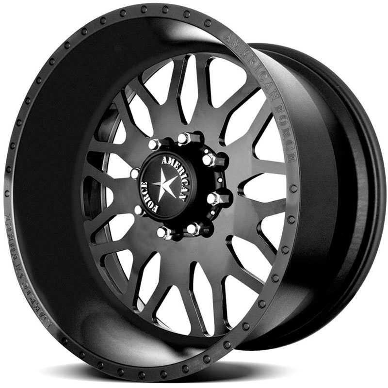American Force EVO SS8 Black Flat-Solid