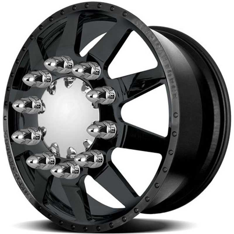 American Force Dually INDEPENDENCE  Wheels Black Textured-Solid
