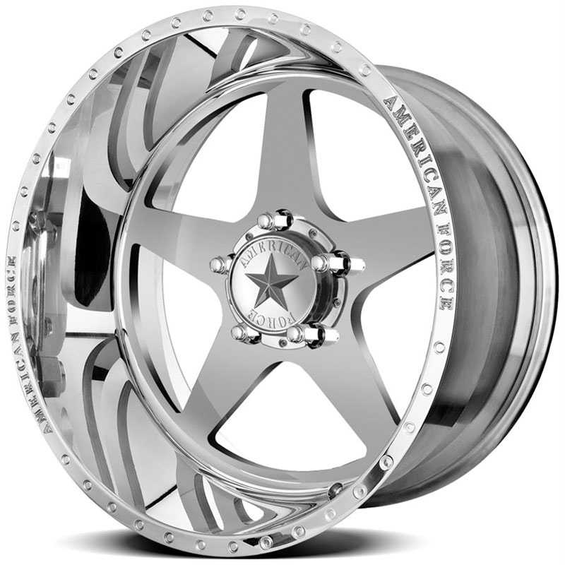 American Force INDEPENDENCE SS5  Wheels Mirror Finish Polish