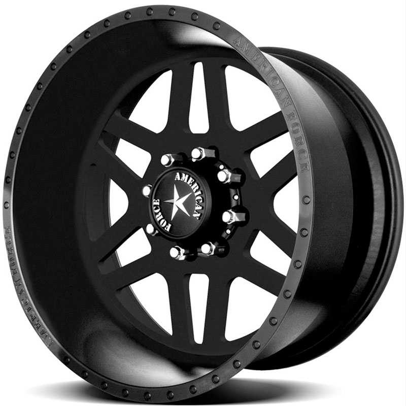 American Force LIBERTY SS8  Wheels Black Flat-Solid
