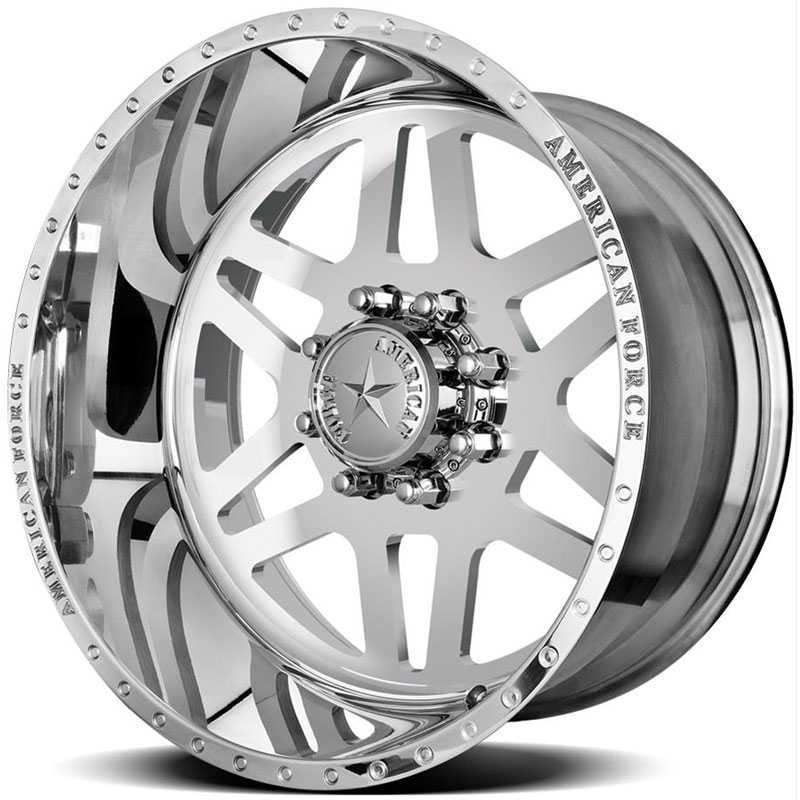 American Force LIBERTY SS8  Wheels Mirror Finish Polish