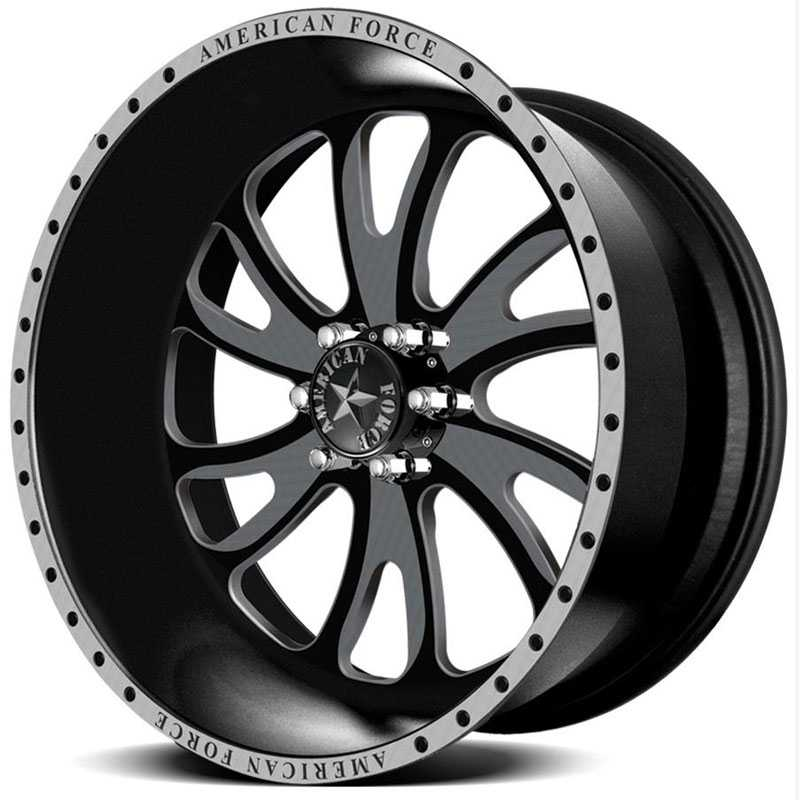 20x14 American Force Wheels RAZOR SF6 Special Forces REV