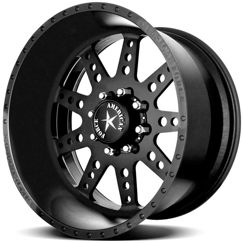 American Force ROBUST SS8 Black Flat-Solid