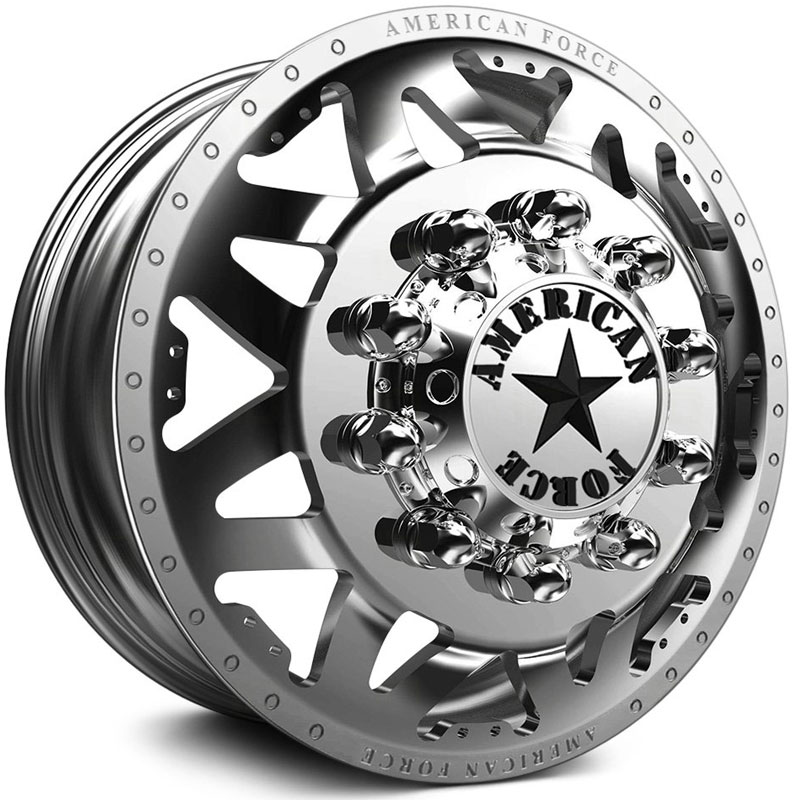 American Force Dually STARS  Wheels Mirror Finish Polish