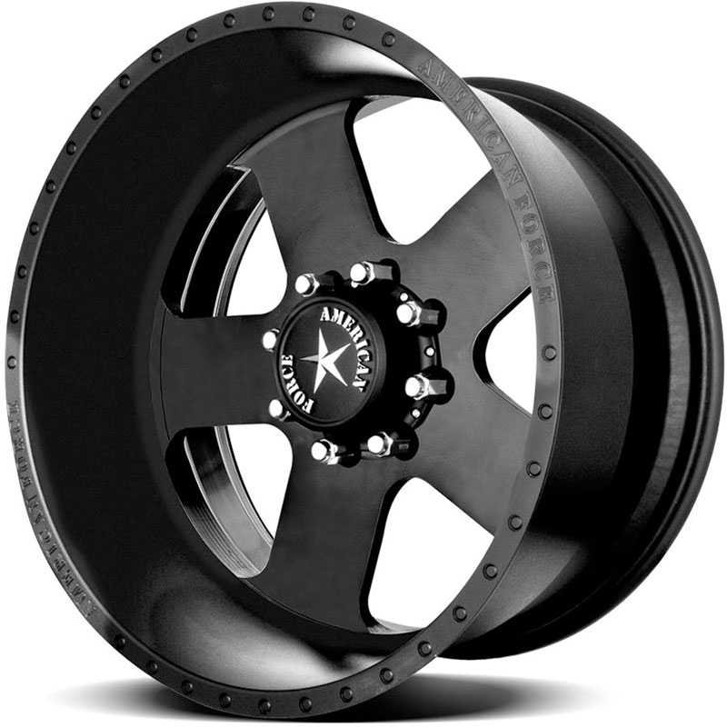 American Force TARGET SS8  Wheels Black Flat-Solid