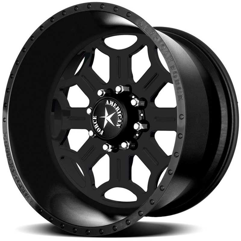 American Force TORQUE SS8  Wheels Black Flat-Solid
