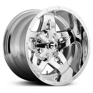 Fuel D553 Full Blown  Wheels Chrome Deep Lip