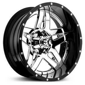 Fuel D253 Full Blown  Wheels Chrome