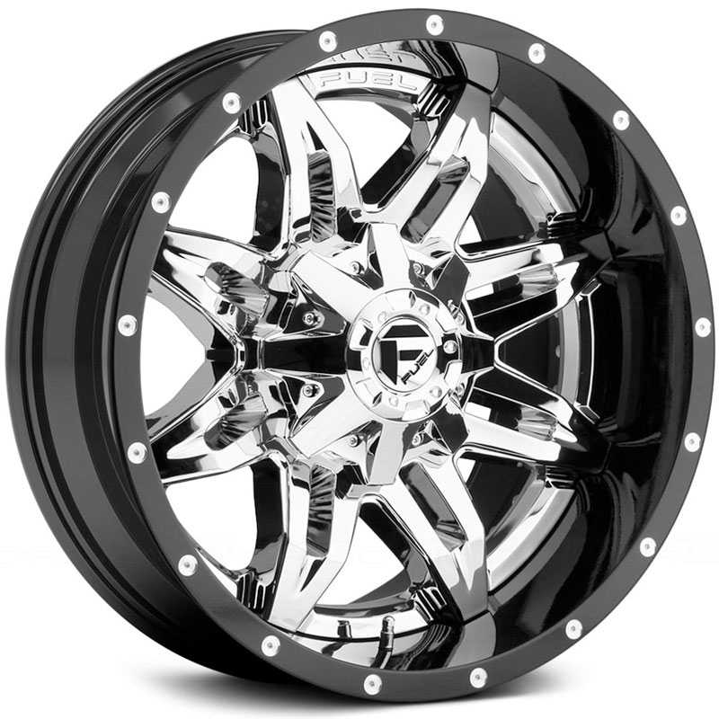 Fuel D266 Lethal  Wheels Chrome