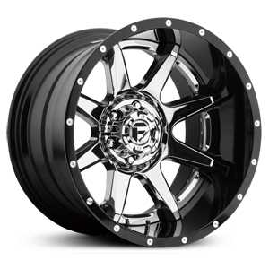 Fuel D237 Rampage  Wheels Chrome
