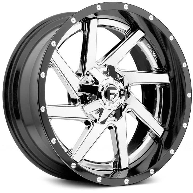 Fuel D263 Renegade  Wheels Chrome