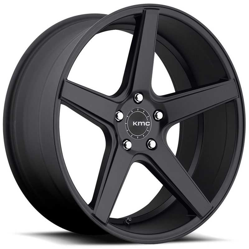 KMC KM685 District  Wheels Satin Black