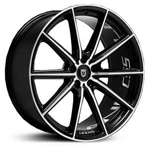 Lexani CSS-10  Wheels Gloss Black/Machined