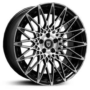 Lexani CSS-16  Wheels Gloss Black/Machined