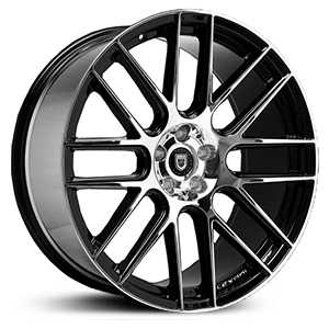 Lexani CSS-8  Wheels Gloss Black Machined