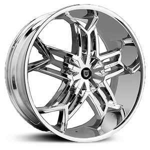 Lexani Tristo  Wheels Chrome