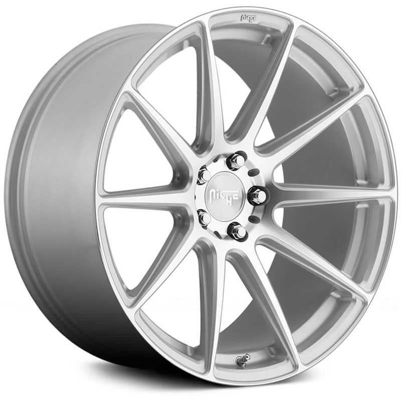 Niche M146 Essen  Wheels Silver Machined