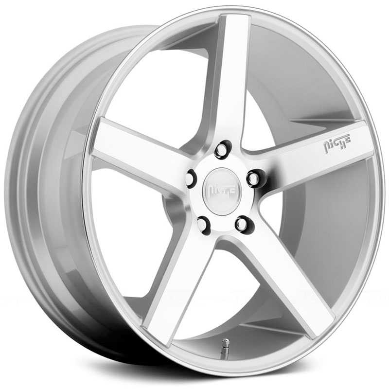 Niche M135 Milan  Wheels Silver Machined
