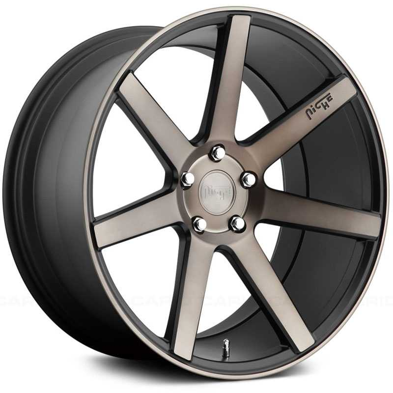Niche M150 Verona  Wheels Black Machined