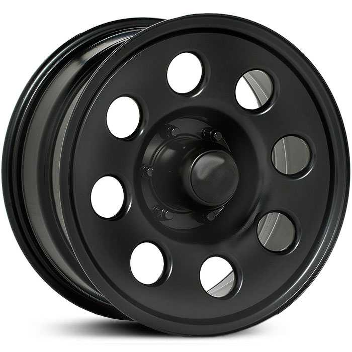 Pacer 237B Black Soft 8  Wheels Black