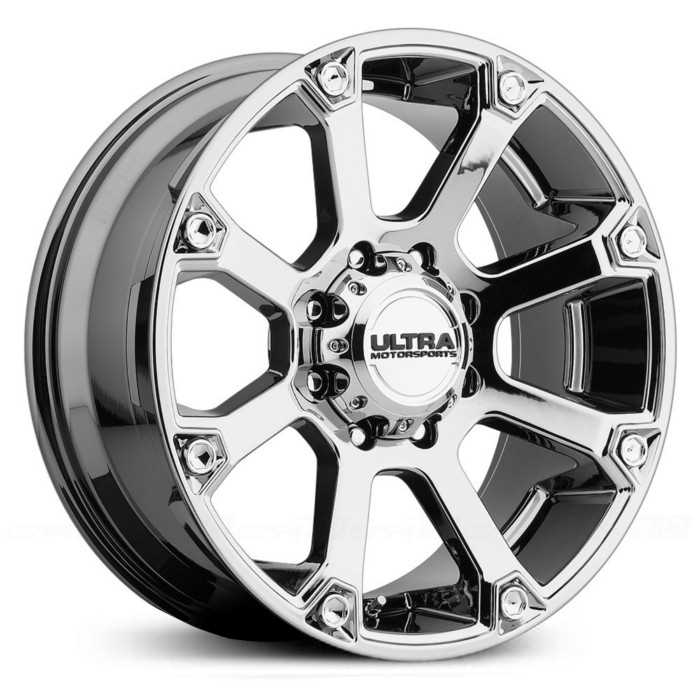 Ultra 245V Spline  Wheels Ultra-V Bright PVD