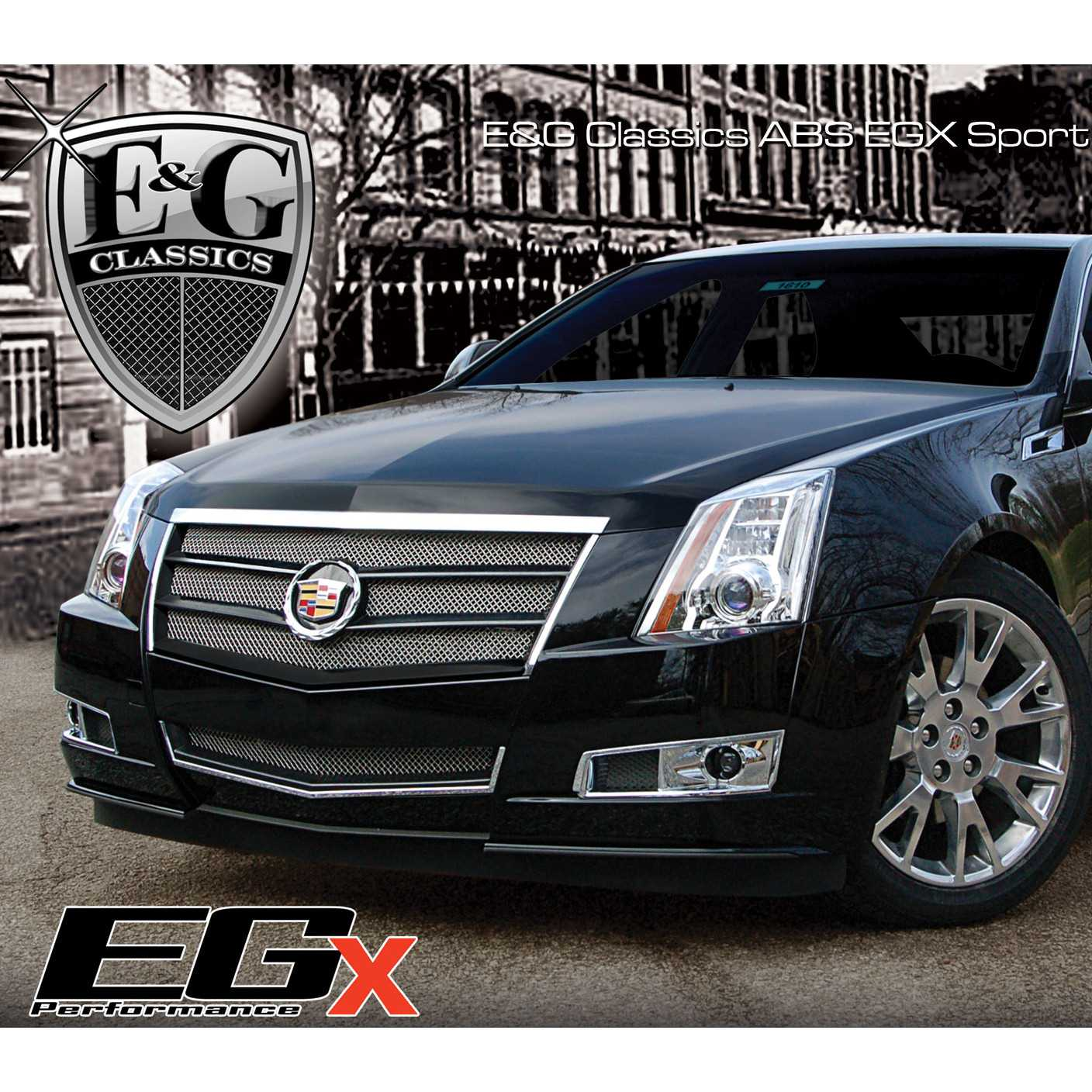 Cadillac Cts 2013 Price: E&G Classics 2008-2013 Cadillac CTS Grille 2Pc Egx Sport Fine Mesh Grille