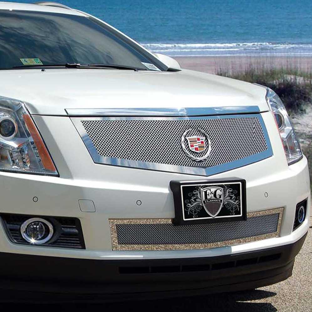 E Amp G Classics 2010 2012 Cadillac Srx Grille 2 Pc Fine Mesh