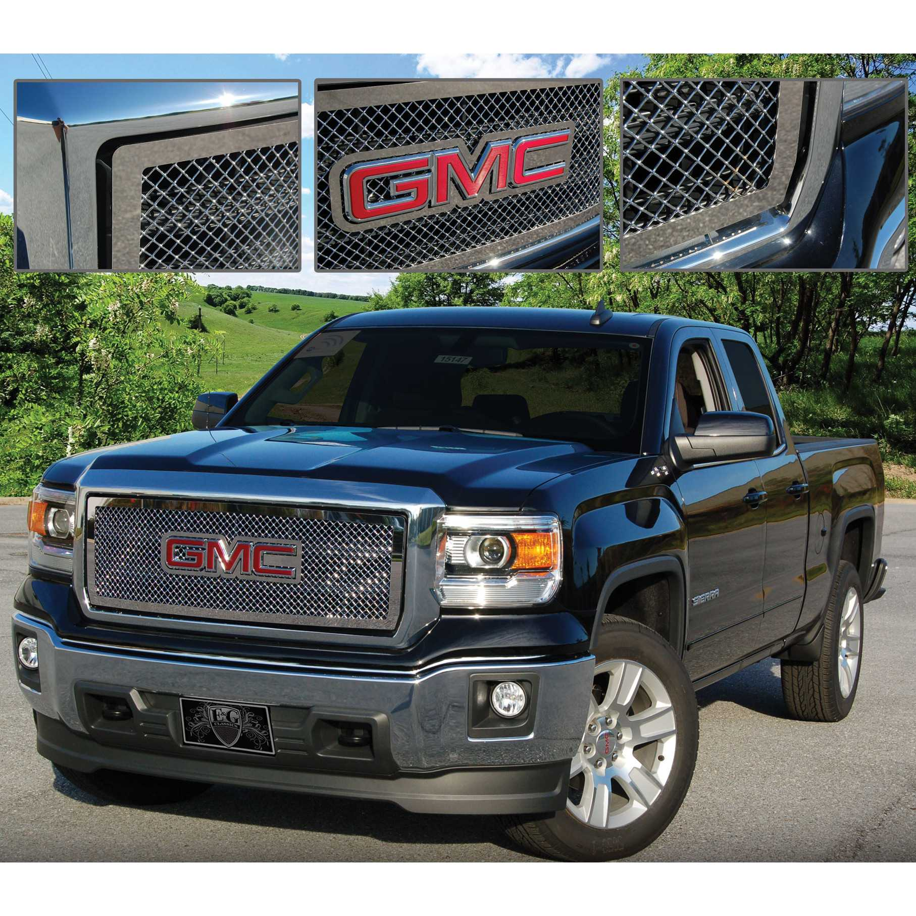 image gmc gallery truck accessories canyon photo spied best denali grille