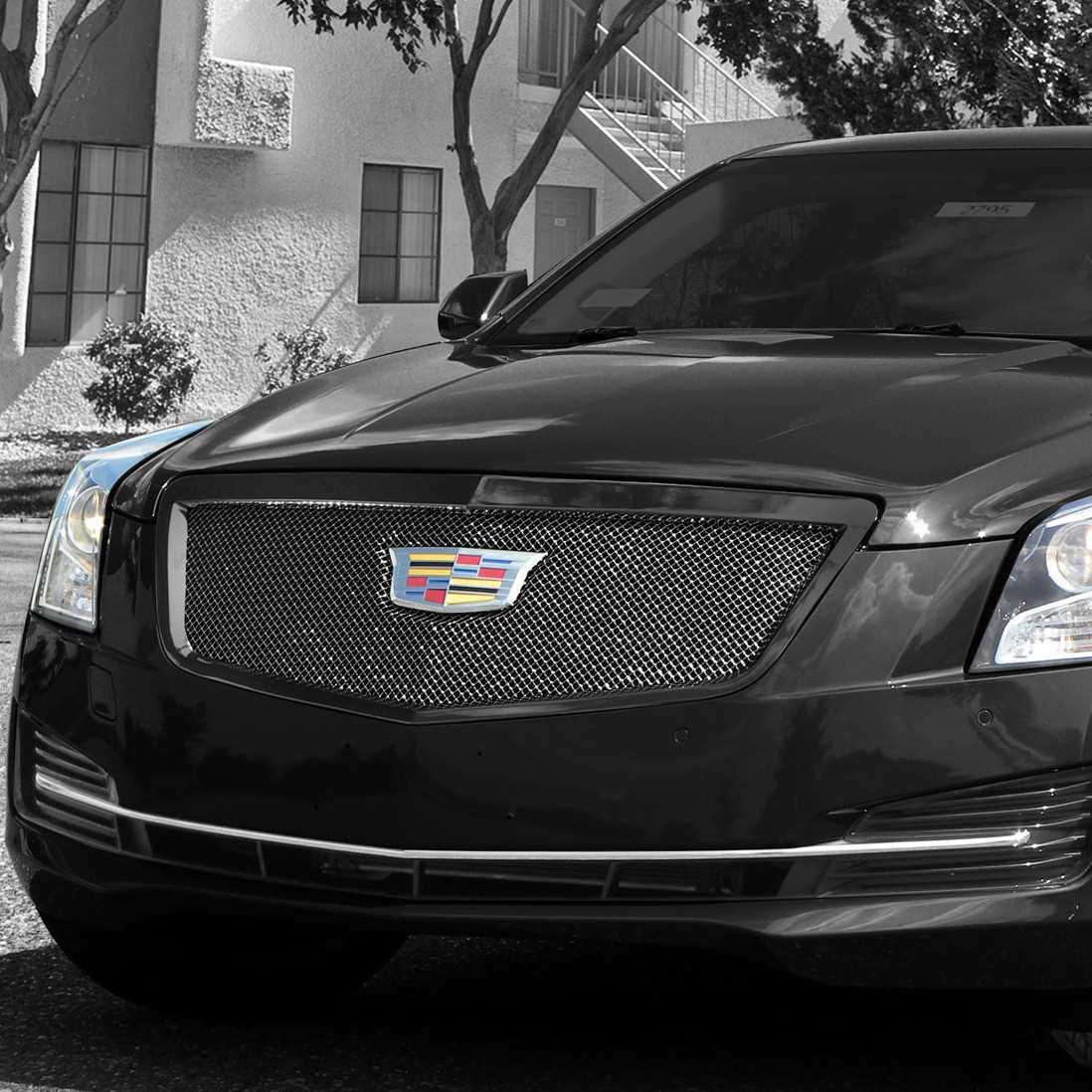 E&G Clics 2015-2016 Cadillac ATS Grille Clic Black Ice Fine ...