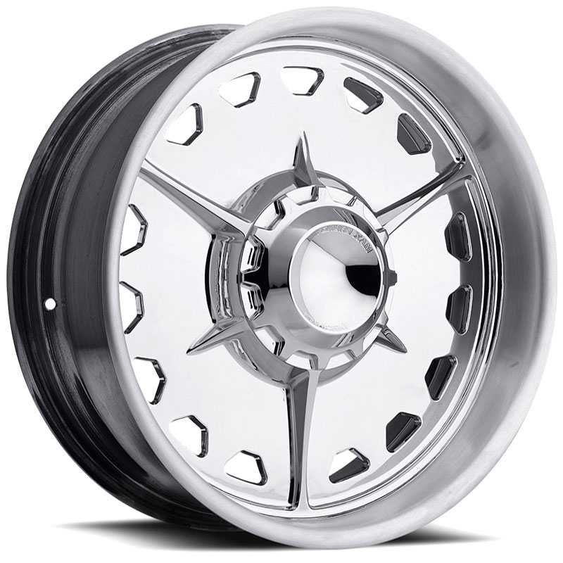 American Racing Vintage VF488  Wheels High Luster Polished