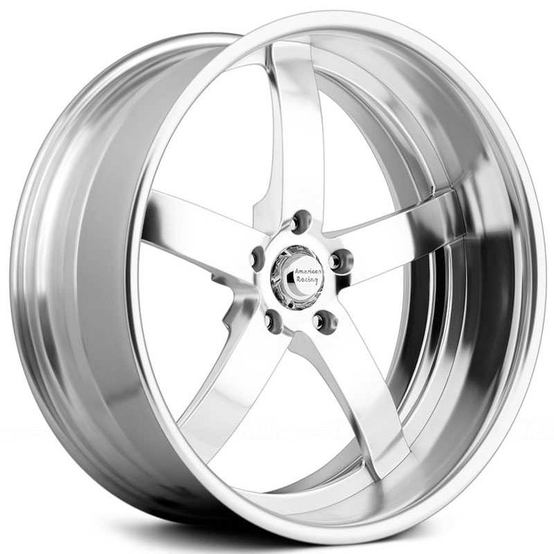 American Racing Vintage VF495  Wheels High Luster Polished