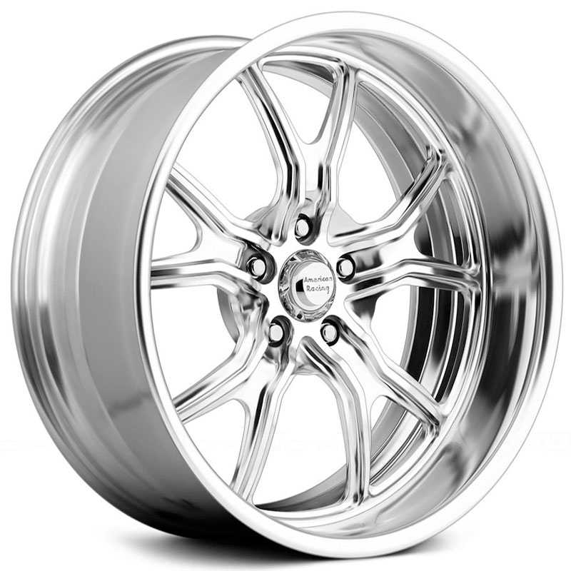 American Racing Vintage VF498  Wheels High Luster Polished