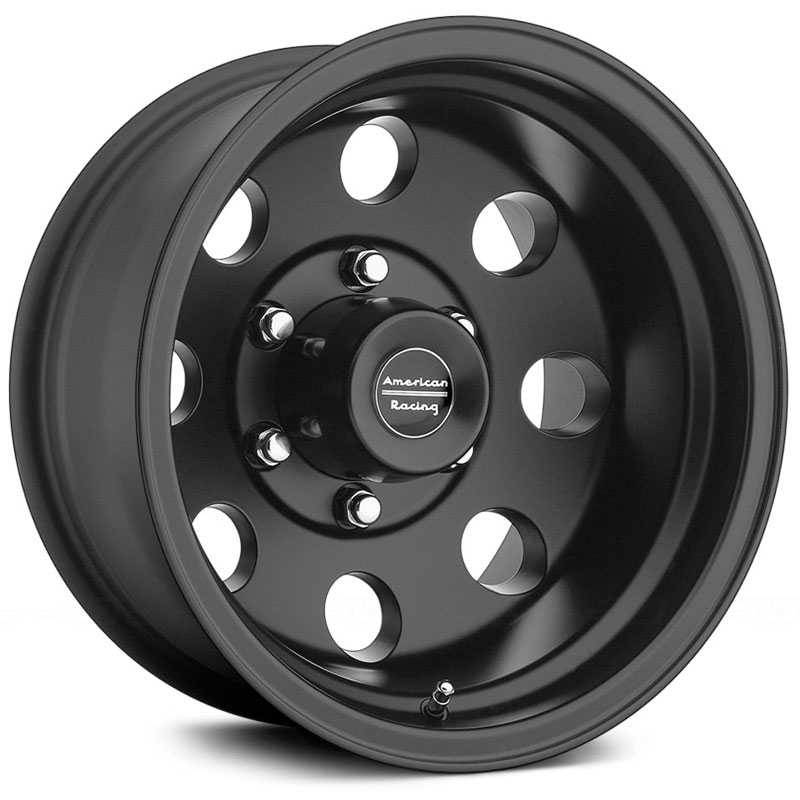 American Racing AR172  Baja Black