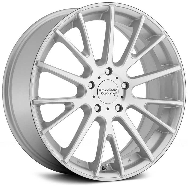 American Racing AR904  Wheels Silver W/ Machined Face