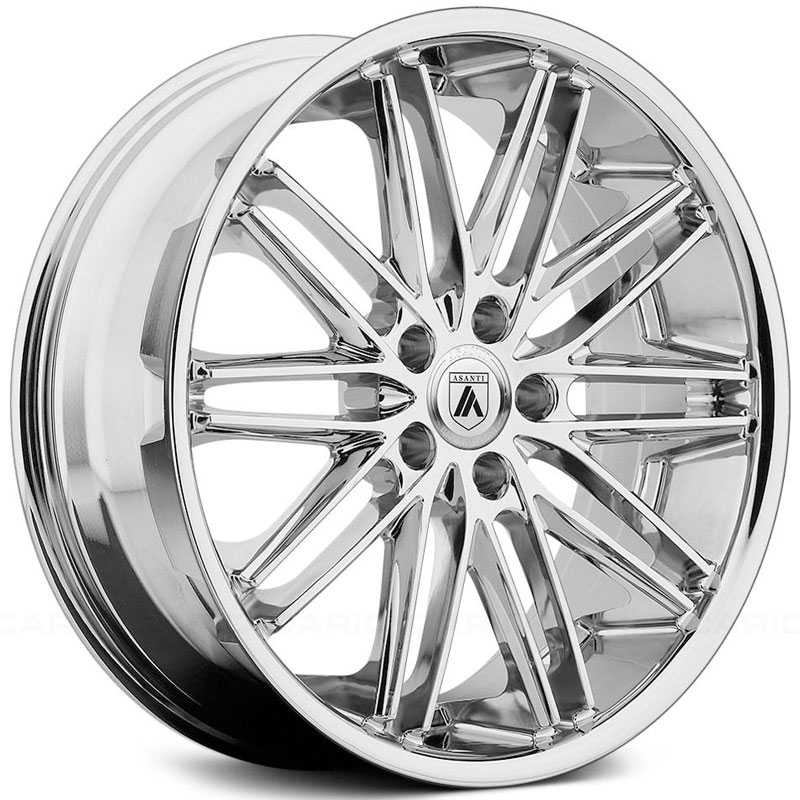 Asanti Black Label ABL-10  Wheels Chrome