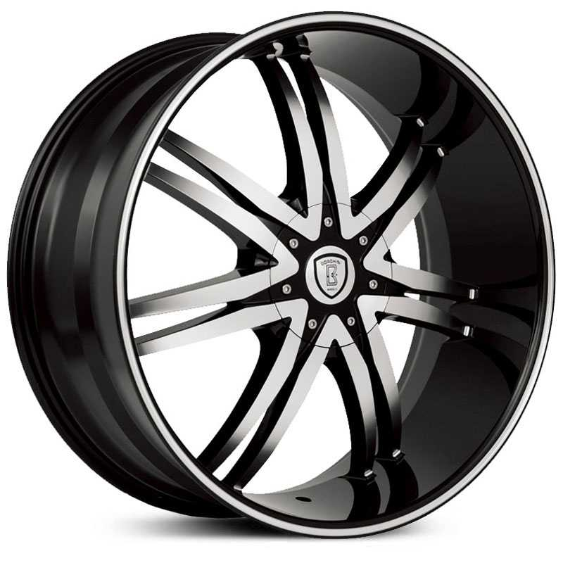 Borghini BW-14  Wheels Black Machined