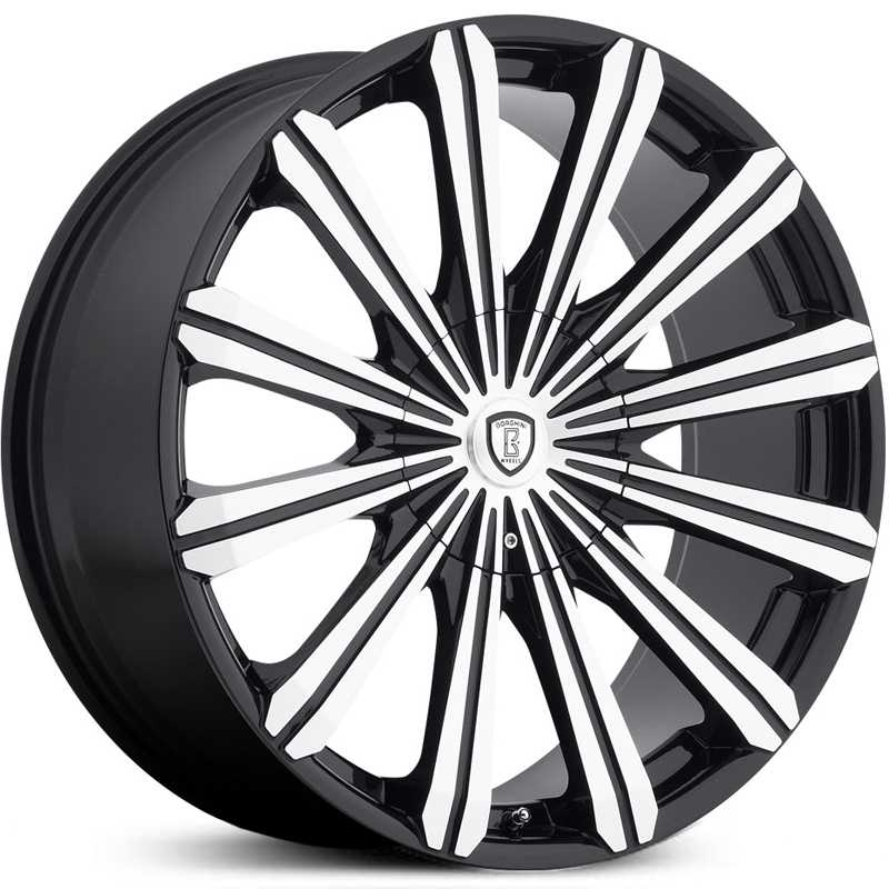 Borghini BW-18  Wheels Black Machined