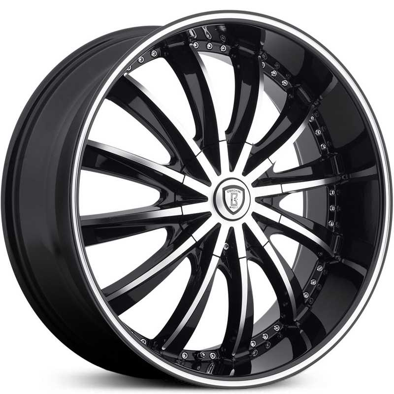 Borghini BW-19  Wheels Black Machined