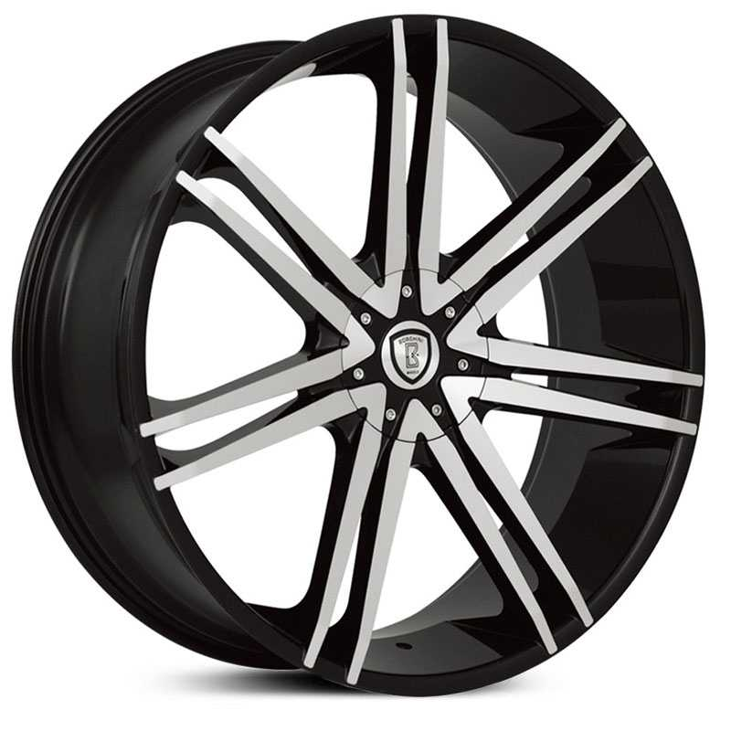 Borghini BW-20  Wheels Black Machined