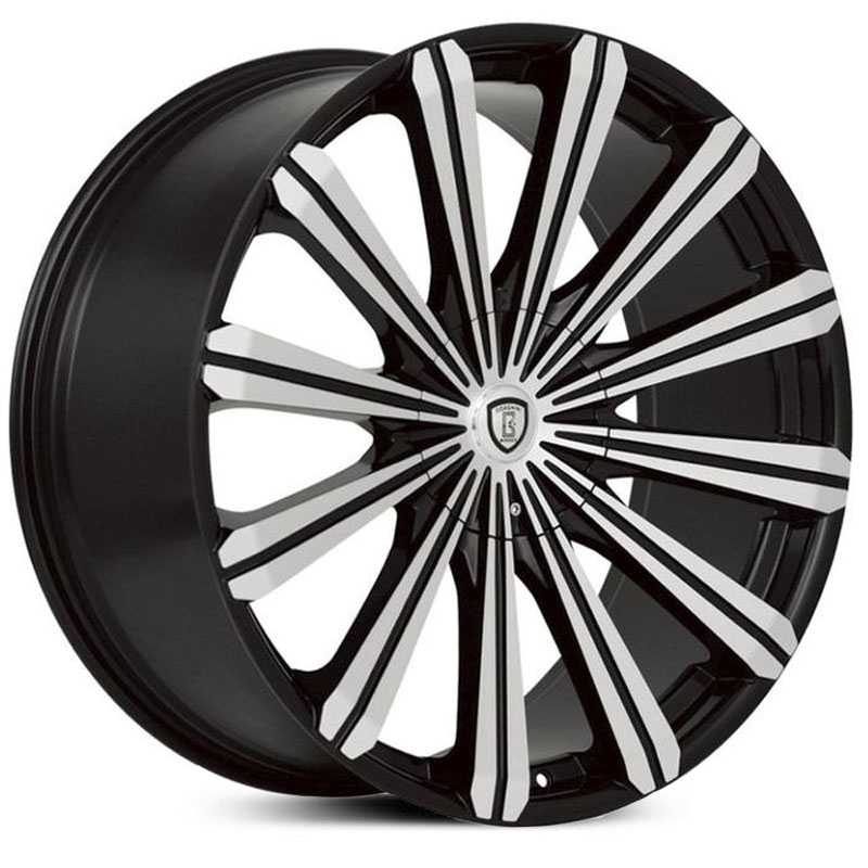 Borghini BW-22  Wheels Black Machined