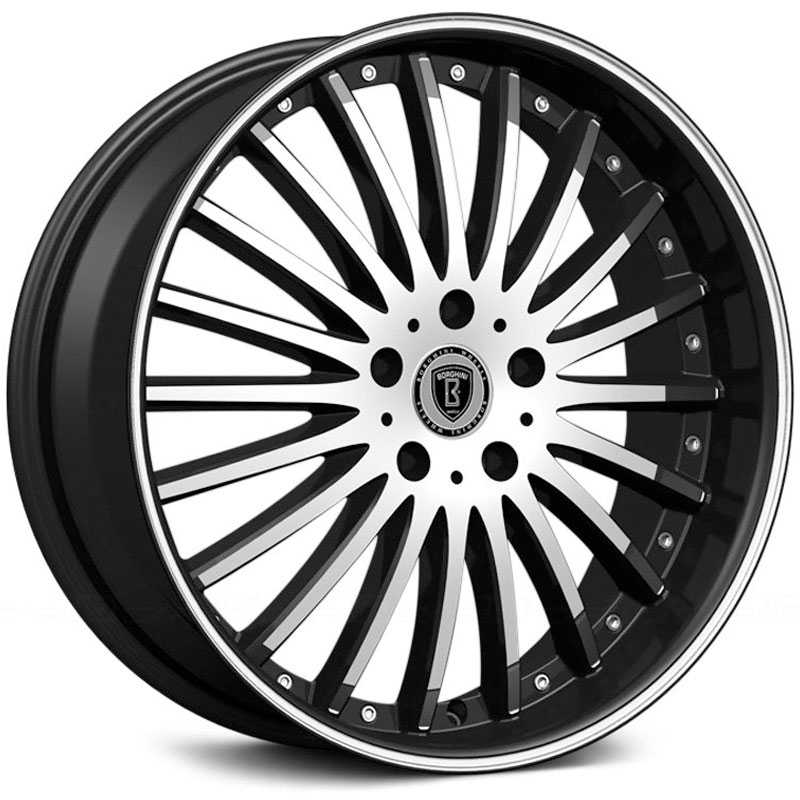 Borghini BW-23  Wheels Black Machined