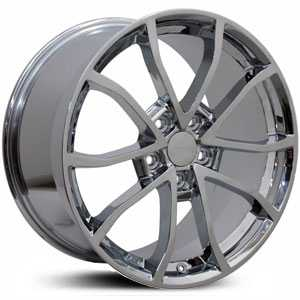 Corvette C6 Z06 CV09  Wheels Chrome