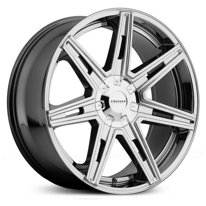 Cruiser Alloy 918V Paradigm  Wheels Bright PVD
