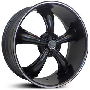 Dcenti DW19A  Wheels Machined Black