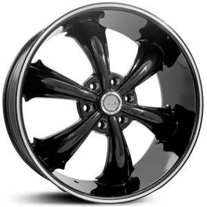 Dcenti DW19B  Wheels Machined Black