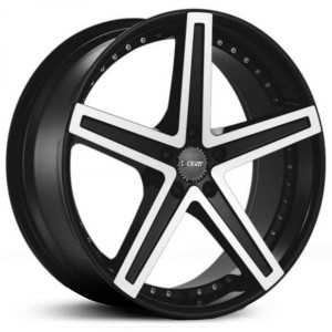 Dcenti DW6A  Wheels Machined Black